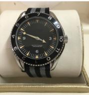 Automatic mechanical waterproof mechanical watch Black casual men Round watch