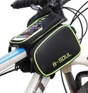 Bicycle bag front beam bag waterproof saddle bag