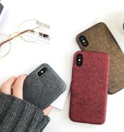 Luxury Soft Leather iPhone Case