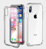 Luxury Shockproof Transparent iPhone Case