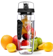 Free Fruit Infuser Juice Shaker Bottle Portable Climbing Camp Bottle