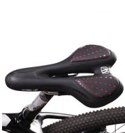 Bicycle seat soft and comfortable universal mountain bike saddle road bike silicone seat cushion