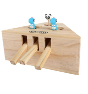 Solid Wood Cat Toy , Hamsters, Kittens, Interactive Toys