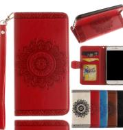 Mandala Flower Leather iPhone Case