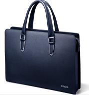 Men's Business Casual Men Cross Section Briefcase Bag Handbag Leather Shoulder Bag Large Men