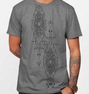 Round neck T-shirt cotton custom