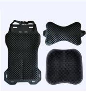 Silicone Car Seat Cushion Car Cushion Breathable Silicone Massage Physiotherapy Cushion