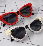Rose sunglasses