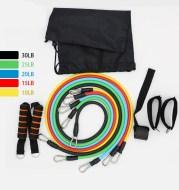 Door Anchor Resistance Band Set for Home Workout 11 piece set Exercise equipment