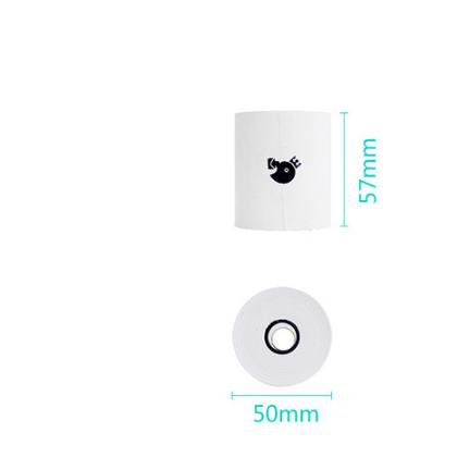 Mini Cloud Mobile Phone Thermosensitive Photo Printer Grunt Thermosensitive Paper