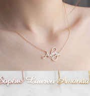 Custom  Name Necklace Personalized Necklace