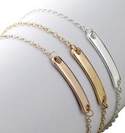 Custom Engraved Name Bracelet