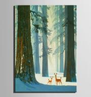 HD canvas inkjet canvas mural