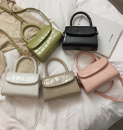 New wave wild small square bag