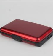 Portable charging treasure wallet
