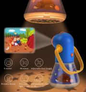 Children Night Lamp Projection Lamps Multifunction Story Projector Kids Early Education