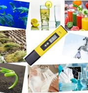 Portable high precision PH acidity meter