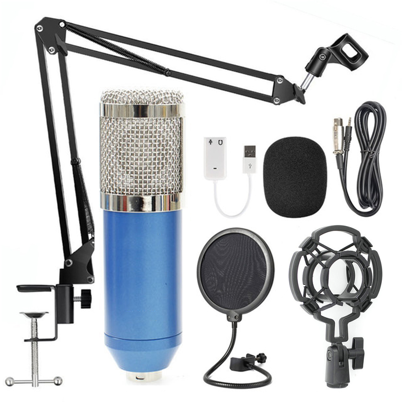BM-800 has been thoroughly researched both in technology and in materials. It adopts imported professional microphone core design, and the sound is thick, round and full without distortion.
