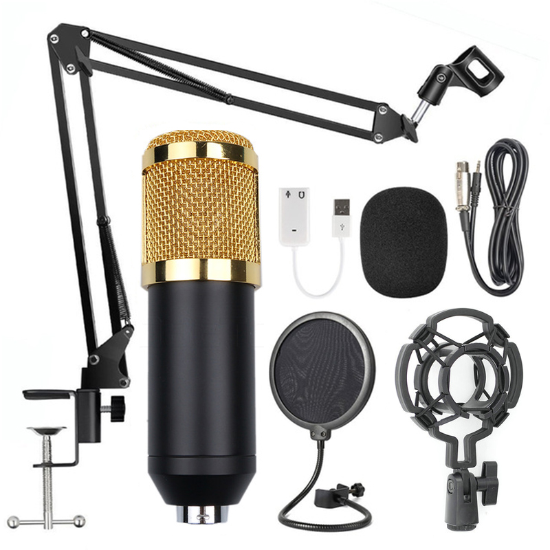 BM-800 Microphone Stand Set