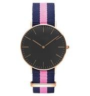 Nylon with two-needle watch