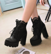 Lace Willow Martin Boots