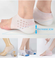 Inner Booster Pad Invisible Men And Women Silicone Heel Insole