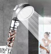 Negative Ion Pressurized Shower Nozzle
