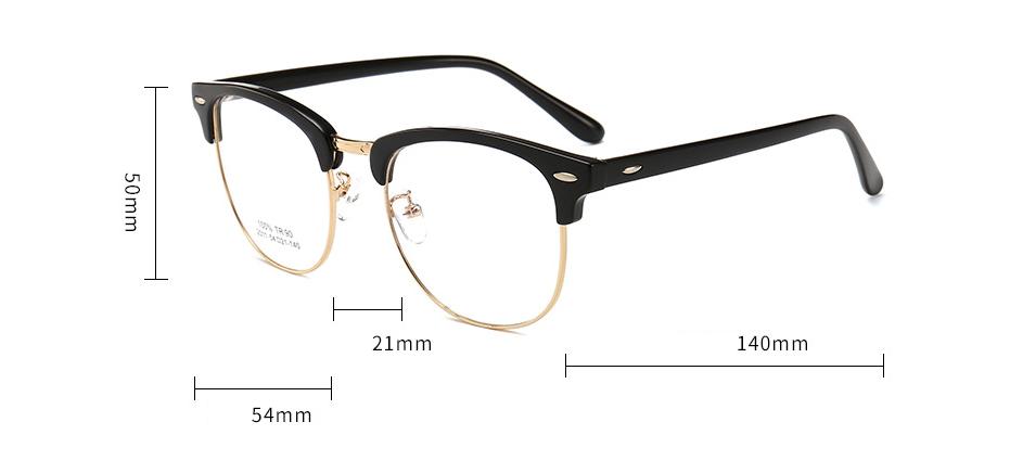 Anti Blue Light Glasses Club Master GB2021 19