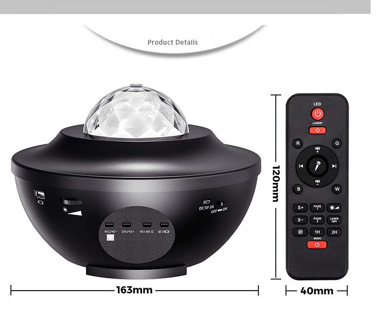 USB Control Music Player LED Night Light allinonehere.com