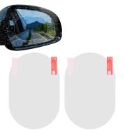 Oval Anti-Moist Waterproof Side Mirror Sticker