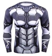 Batman 3.0 BJJ Rash Guard (LS)
