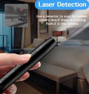 Bugs Finder Spy Gadgets Detector GPS Tracking GSM Card Locator Mini Cam Hidden Camera Pen Spy Wiretap Sound Signal Hunter Finder