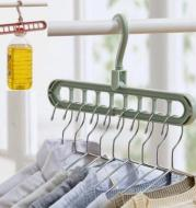 9-hole Clothes Hanger Organizer Space Saving Hanger