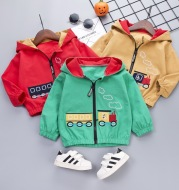 Cartoon train jacket