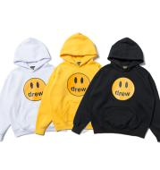 Smiley high quality cotton plus velvet sweater