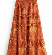 print shirta and dress