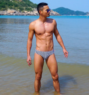 Men's Low Waist Sexy Swim Shorts