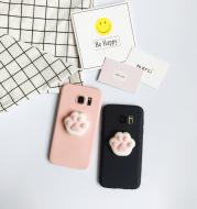 Soft three-dimensional decompression Samsung mobile phone case