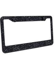 Bling Crystal License Plate Frame