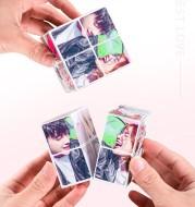 Creative rubik's cube photo