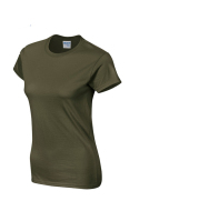 Solid color women's short-sleeved T-shirt combed cotton bottoming shirt advertising shirt custom