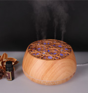 Four-Hole Misting Aroma Diffuser, Three-Dimensional Aromatherapy Humidifier