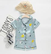 Children's ice silk summer pajamas