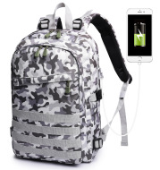 Camouflage backpack schoolbag