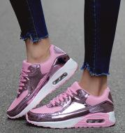 Couple air cushion running shoes