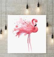 Flamingo diamond painting