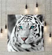 Blue eyed tiger diamond painting
