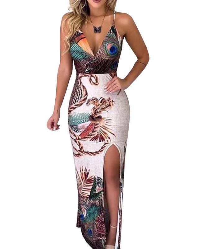 High Fashion Split Leg Dress