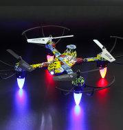 Graffiti remote control aircraft quadcopter