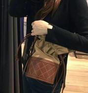 Multifunctional bucket bag women